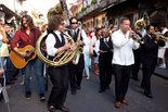 Preservation Hall concert in May shut down St. Peter Street.