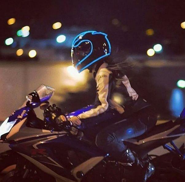 lighted helmet like tron - helmet lights