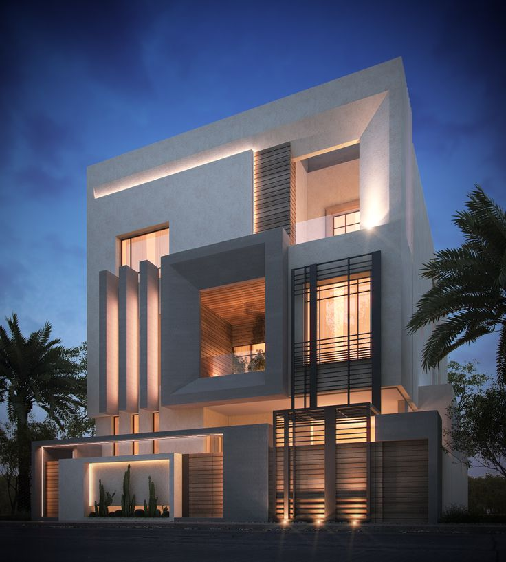 Galerie de mod les de salon marocain et plus layout modern villa design house design for Plan architecte villa moderne
