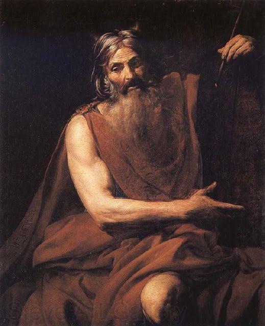 """Ο Μωυσής με τις δέκα εντολές - 1627-32   """"Μουσείο Ιστορίας της Τέχνης"""" στην Βιέννη"""