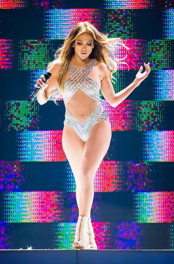 Superstar Jennifer Lopez celebrates New Year's Eve by Performing at The Colosseum at Caesars Palace in Las Vegas (Photo: © Erik Kabik / www.ErikKabik.com).