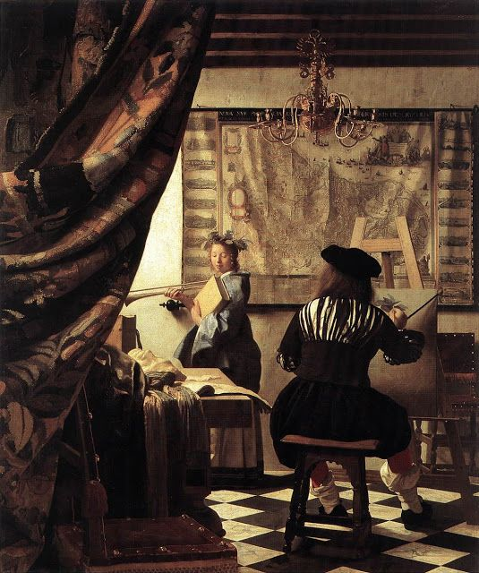 Η τέχνη της ζωγραφικής. (1667)
