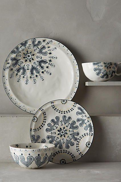 Fandoline Dinner Plate - anthropologie.com