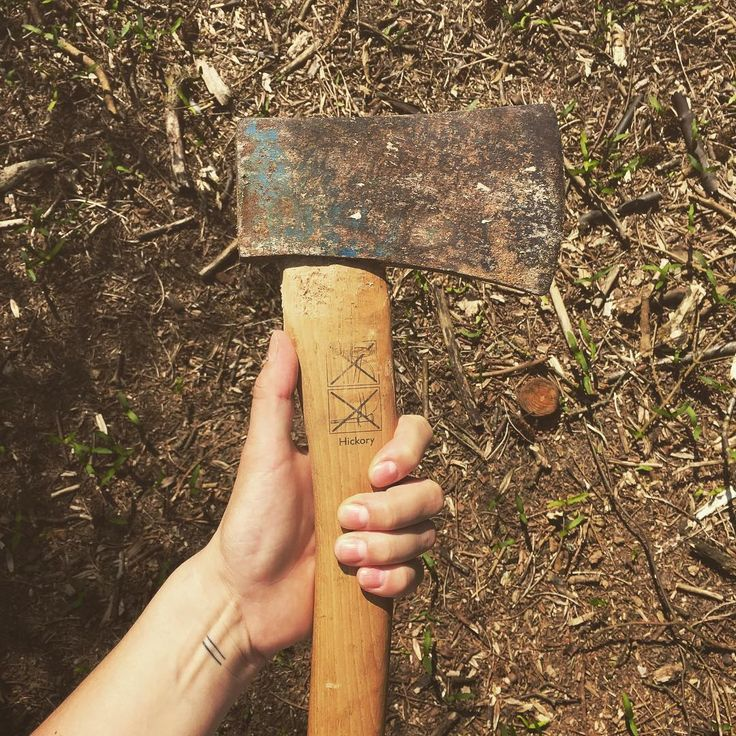 Just another day in the Woods #outdoorlifestyle #axe #countryliving…