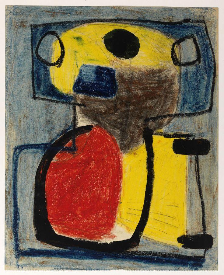 """Karel Appel, """"Personnage"""" (1947)"""