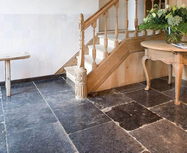 94 best belgian blue stone images on pinterest homes for Bluestone flooring