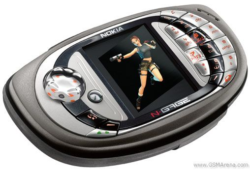 Nokia N-Gage. I ALWAYS WANTED One of These. =(