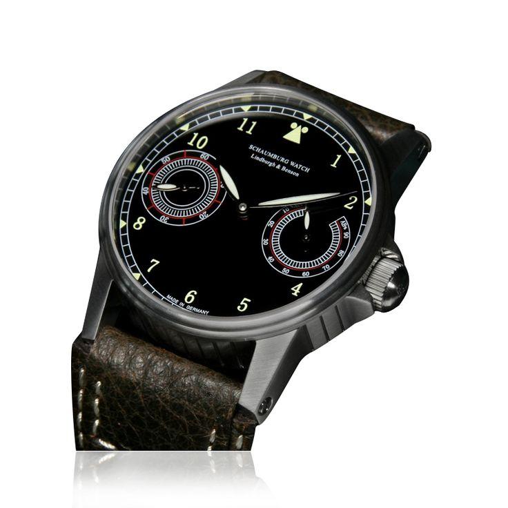 #Schaumburg Watches Available At www.chronowatchcompany.com #Schaumburg Watch - Up down Flieger