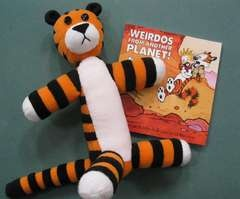 What a cute birthday gift this would make! I remember enjoying Calvin And Hobbes when I was a kid, and even more so now as an adult.