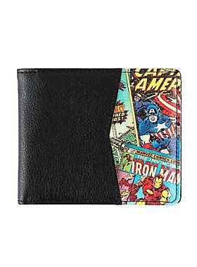 We can't think of a better way to keep your cash safe than with this wallet featuring Marvel's finest superheroes like Captain America and Iron Man.