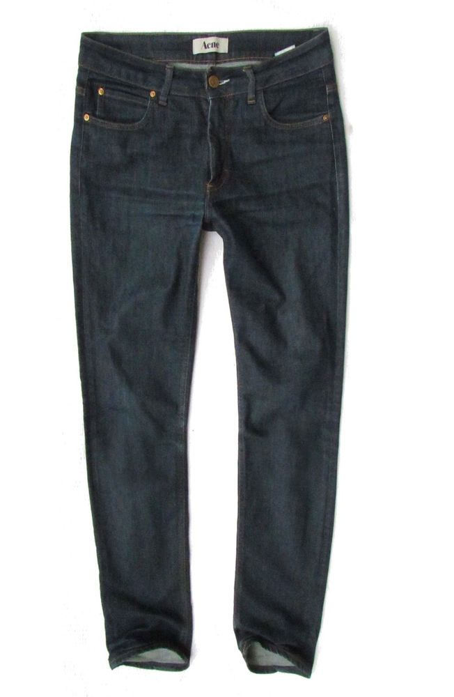 ladies jeans Acne model Hex  DC W31 L32 #AcneJeans #SlimSkinny
