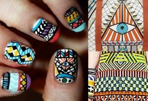 kleurrijke nagels zeker een keer proberen