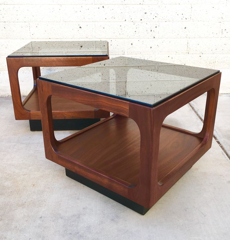 57 best mcm furniture archive images on pinterest mcm furniture brown saltman cube end tables keyboard keysfo Image collections