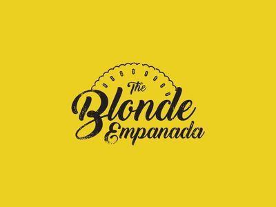 The Blonde Empanada Final Logo