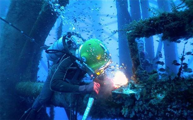 Underwater Welding Courses at DIT
