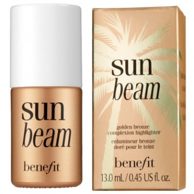 Benefit Sun Beam - Benefit Sun Beam - Mix a few drops of this bronzer with your moisturizer to hold pasty skin at bay