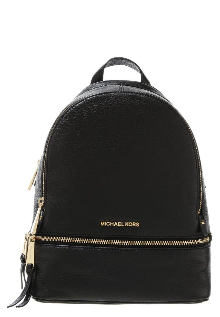 Köp MICHAEL Michael Kors RHEA - Ryggsäck - black för 2995,00 kr…