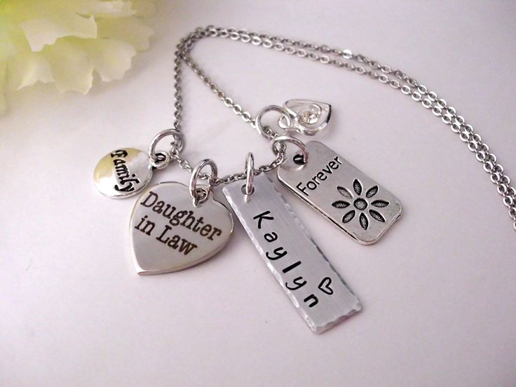 Daughter in law gift daughter in law jewelry gift for