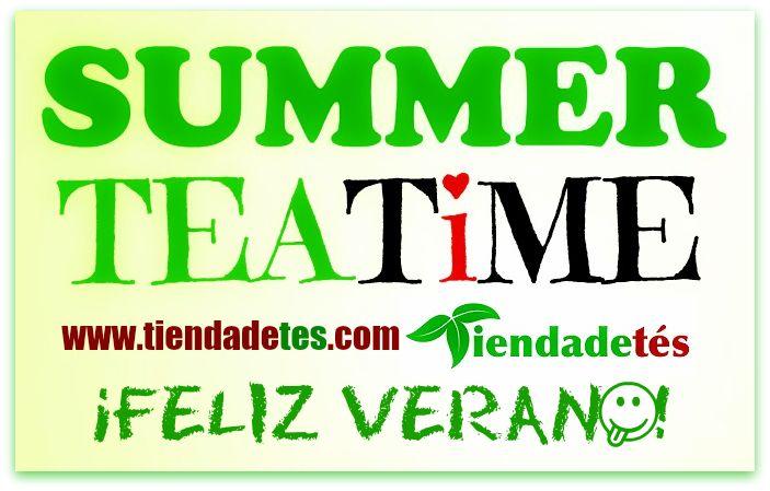 ¡¡Feliz Verano para todos!! ¡¡Nada como disfrutarlo con un buen Té!! ¡¡Entra en www.tiendadetes.com y que el calor no sea ningún problema!! #Tiendadetés #FelizVerano #FelizLunes #Summer #Té #Tea #TeaTime #SummerTime #Verano #Relax #Te #Tes #Infusiones #ILoveTea #TéFrío #TéHelado #IceTea #Calor #ComprarTé #VentadeTé