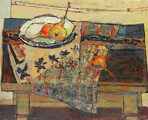 Armand Sinko    Still Life with Pears    1975