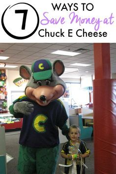 Saving Money at Chuck E Cheese :: If you love Chuck E. Cheese but not the cost, take a look at these helpful 7 ways to save money at Chuck E. Cheese. With a little planning, you can in fact get more fun for your buck!