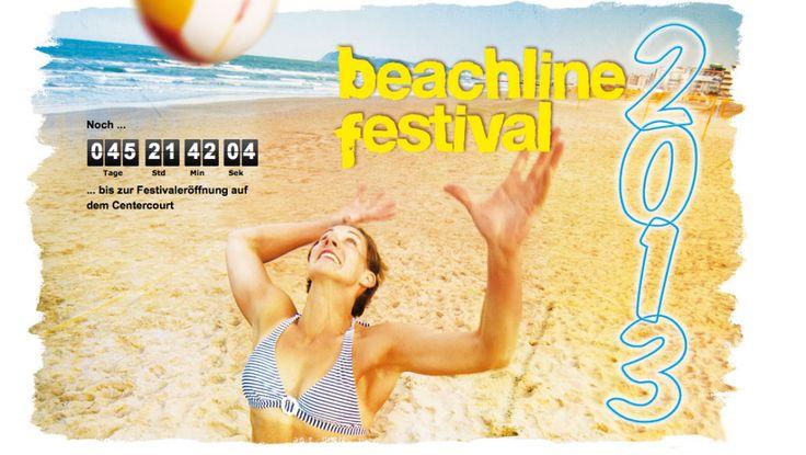 Il più grande evento di beachvolley d'Europa con migliaia di atleti tedeschi su circa 250 campi:Beachline Festival 2013 a Riccione beach volley hotel per Pasqua