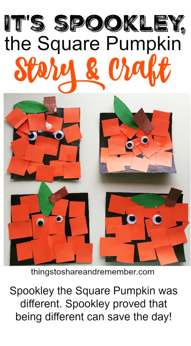 Spookley the Square Pumpkin Craft