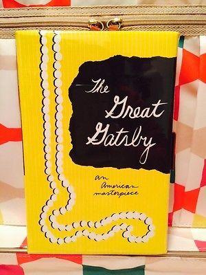 Kate-Spade-Great-Gatsby-Emanuelle-Classic-Book-Clutch-Purse-NWOT