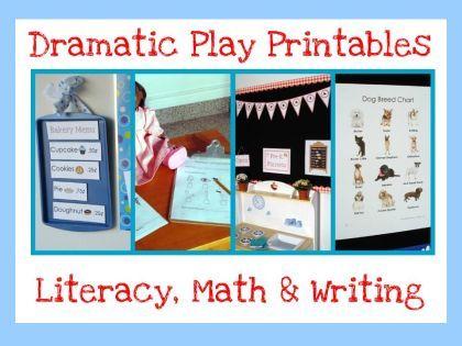 dramatic play printables