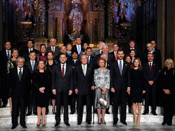 El rey Juan Carlos abrió la XXII Cumbre Iberoamericana