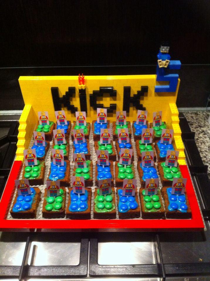 LEGO traktatie birthday party