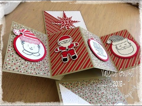 Hi Guys, Just a super quick video showing you a Twist and Pop Card I made following Collette Mitrega tutorial and using products from Kaisercraft's 'Christma...