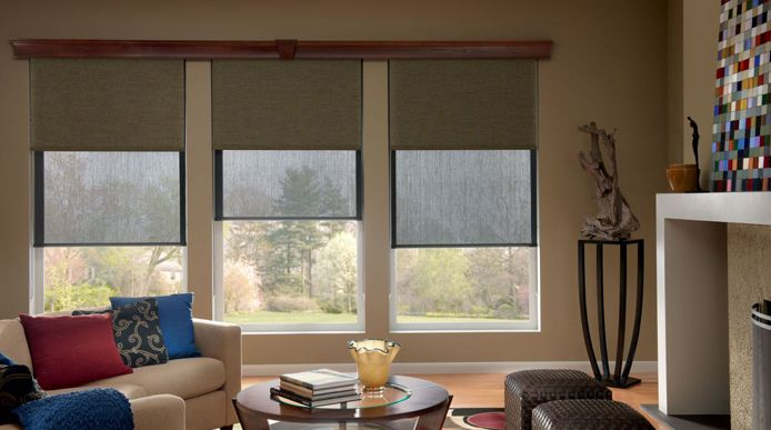 Dual Roller Blinds combine blockout and sunscreen roller blinds onto one bracket, giving you twice the control over your light and views.