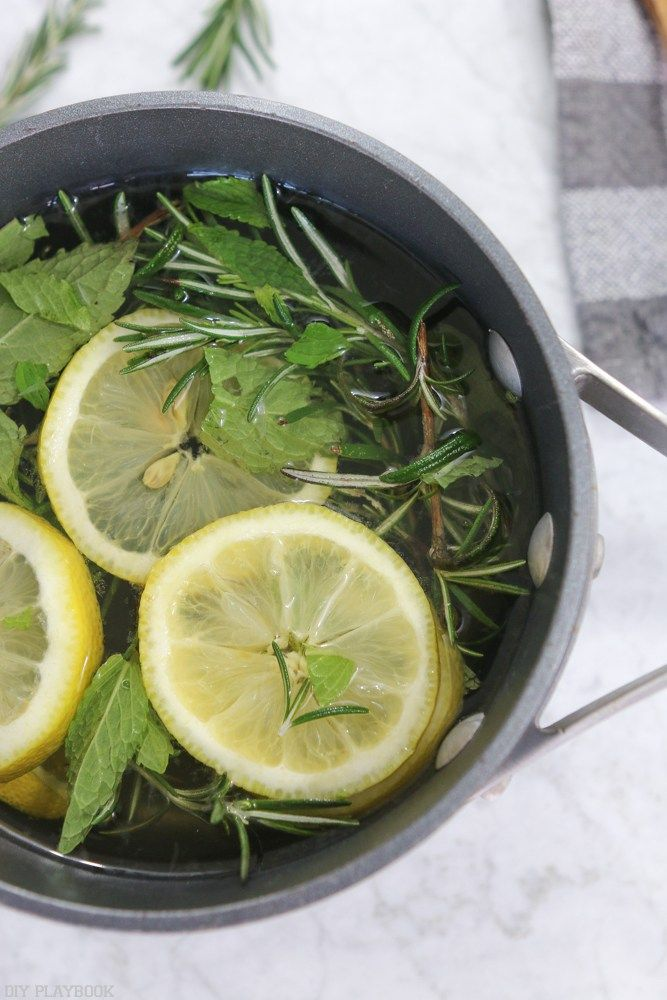 Make your home smell like spring with this stovetop potpourri! Such an easy recipe that you can leave on your stove all day long simmering. It will fill your home with a fresh aroma as you do your spring cleaning!