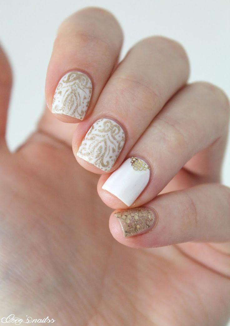 White & Gold baroque