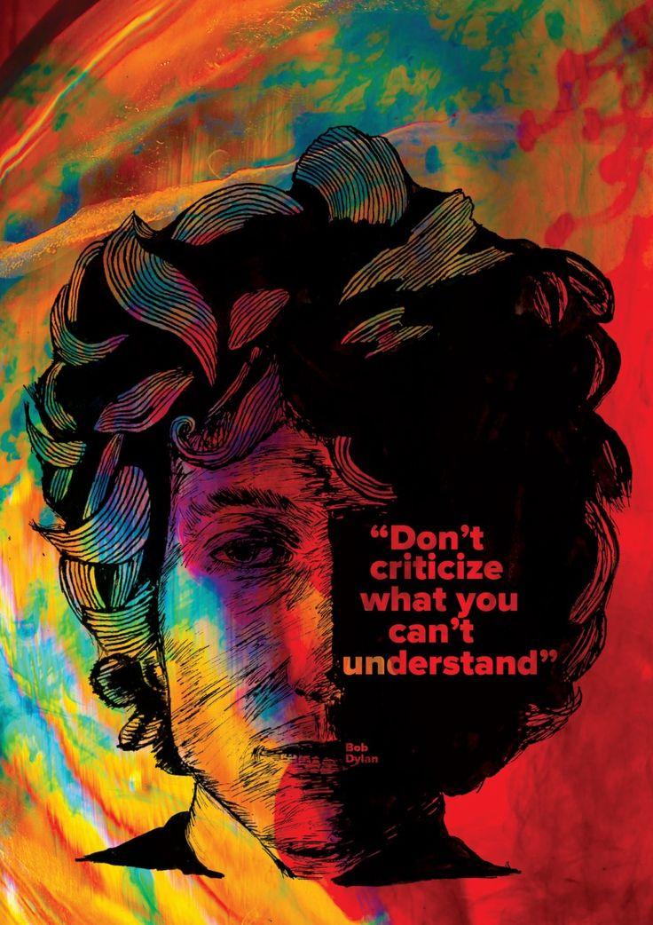 Bob Dylan - Illustration