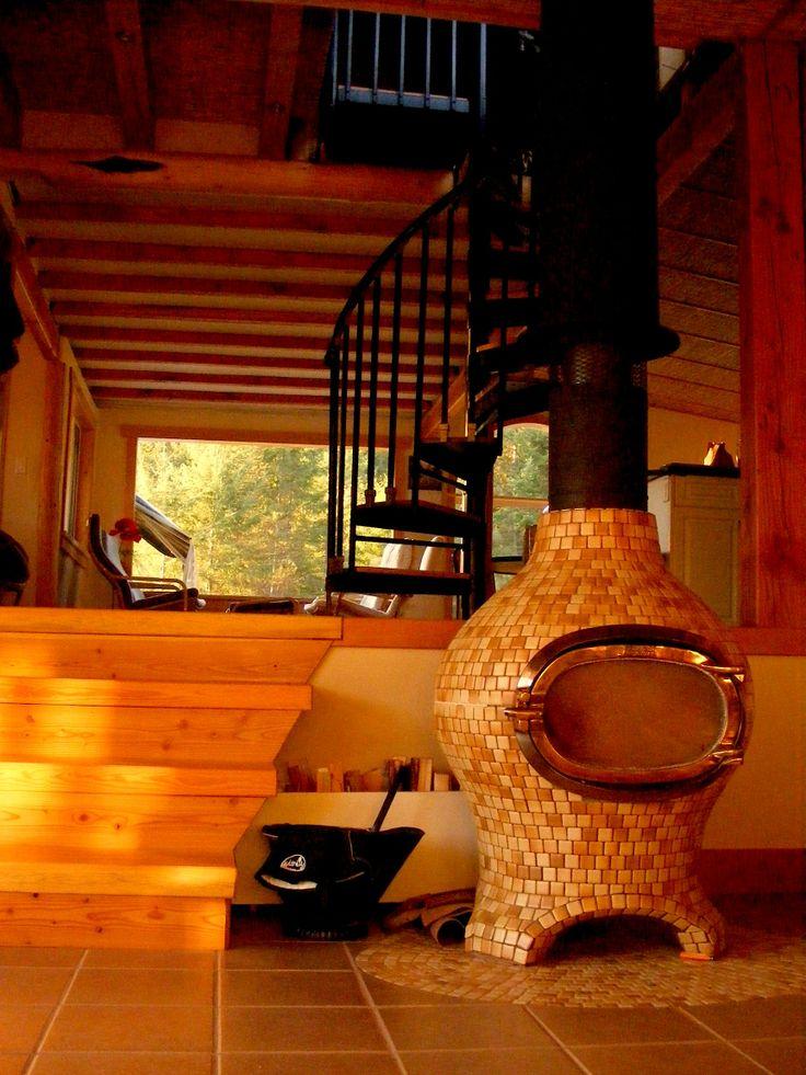 208 best masonry heaters ceramic stoves images on pinterest for Decorative rocket stove