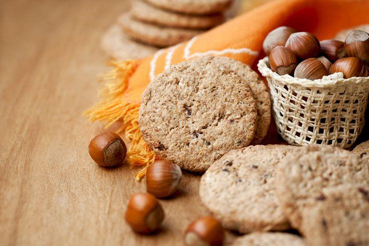 Biscotti vegan integrali e senza zucchero (con Dietor)