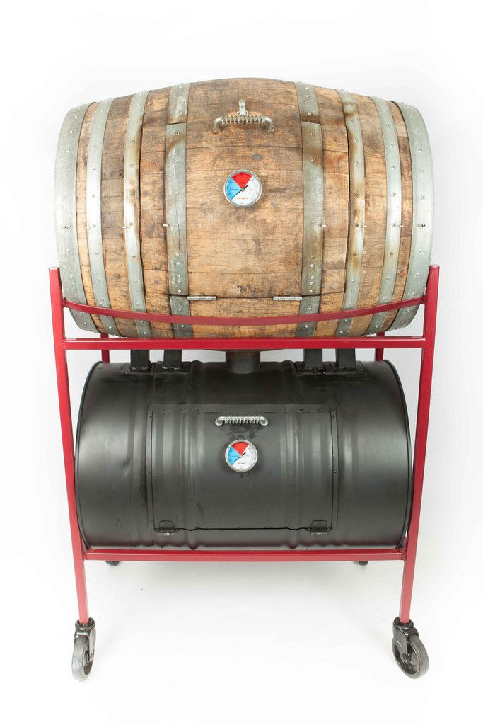 Barrel Smoker, Mark I Design