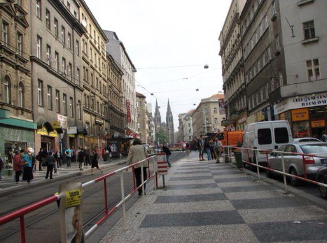 Había una calle que se llamaba I. P. Pavlova