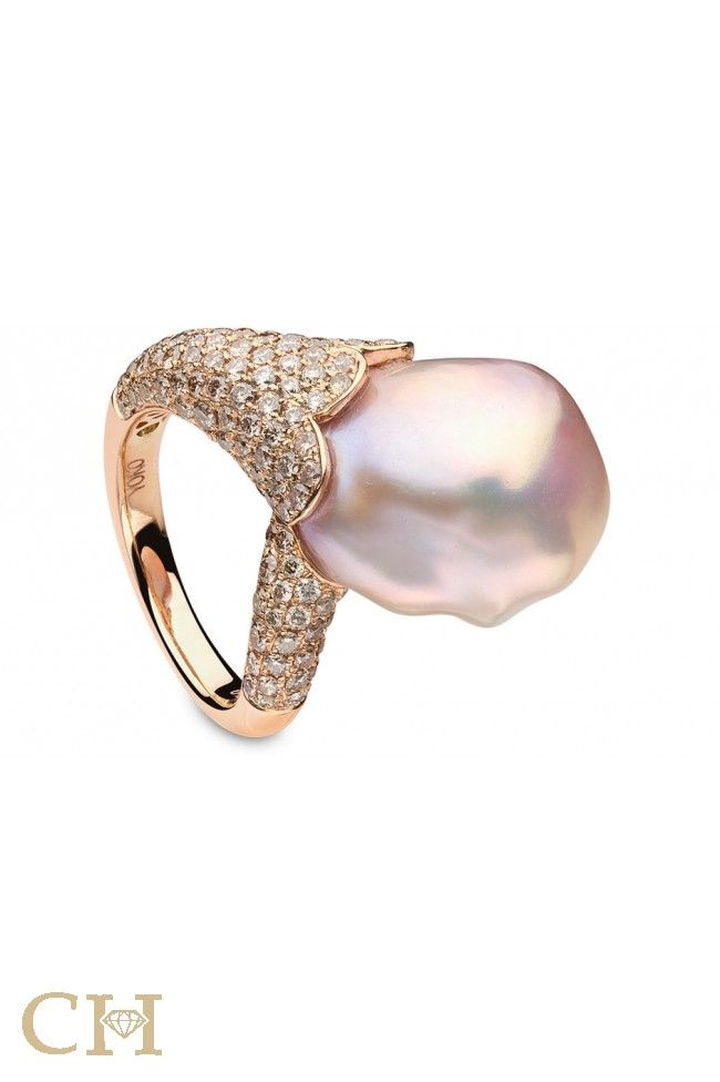 Fine Jewelry Cultured Freshwater Pink Pearl 14K Rose Gold Beaded Ring DdnvdwvR