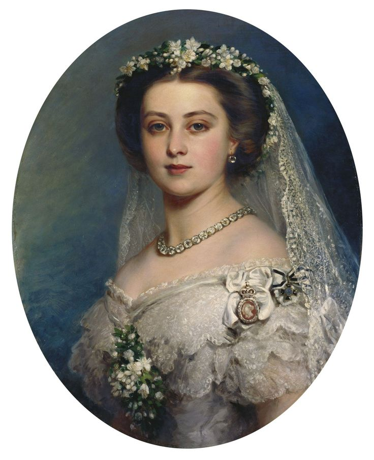 """Victoria, Princess Royal (1840-1901)"", Frank Reynolds (after Winterhalter), 1858; Royal Collection Trust 407449"