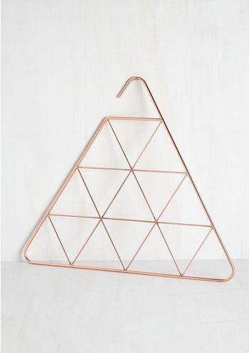 Products we like / Hanger / Copper / scarf hanger/ Minimal