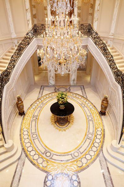 foyer, Beaux Arts in Beverly Hills