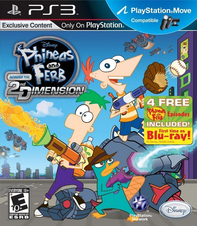 Phineas And Ferb Across The 2nd Dimension Phineas Ferb Wii
