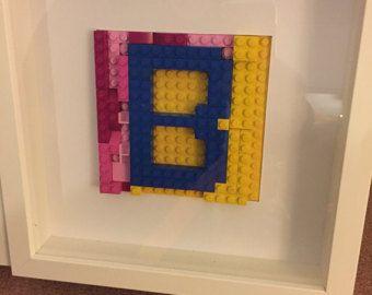 Encadrement sur mesure Lego Art par LegoArtbyLilia sur Etsy