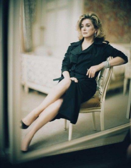 Catherine Deneuve by Paolo Roversi