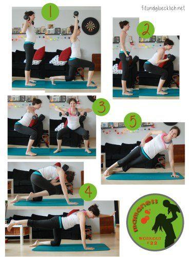 Mamaness Schwangerschaft Workout - Fit in der Schwangerschaft http://fitundgluecklich.net/2016/01/28/mamaness-schwangerschaft-workout-22/