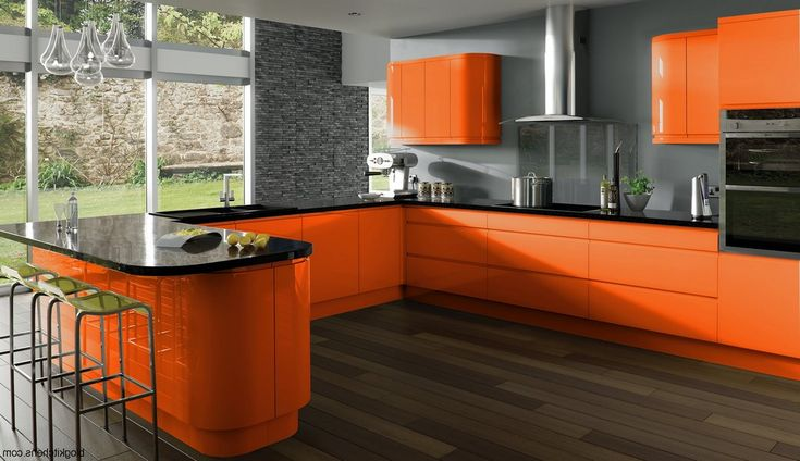 Kitchen Design Orange Extraordinary 284 Best Cozy Kitchen Home Design Ideas Images On Pinterest Inspiration Design