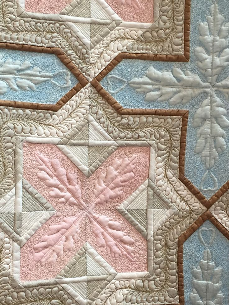 Detail of Kay Bell quilt